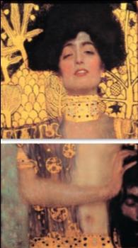 《ユディトⅠ》1905年 油彩、カンヴァス 171×171 cmローマ国立近代美術館